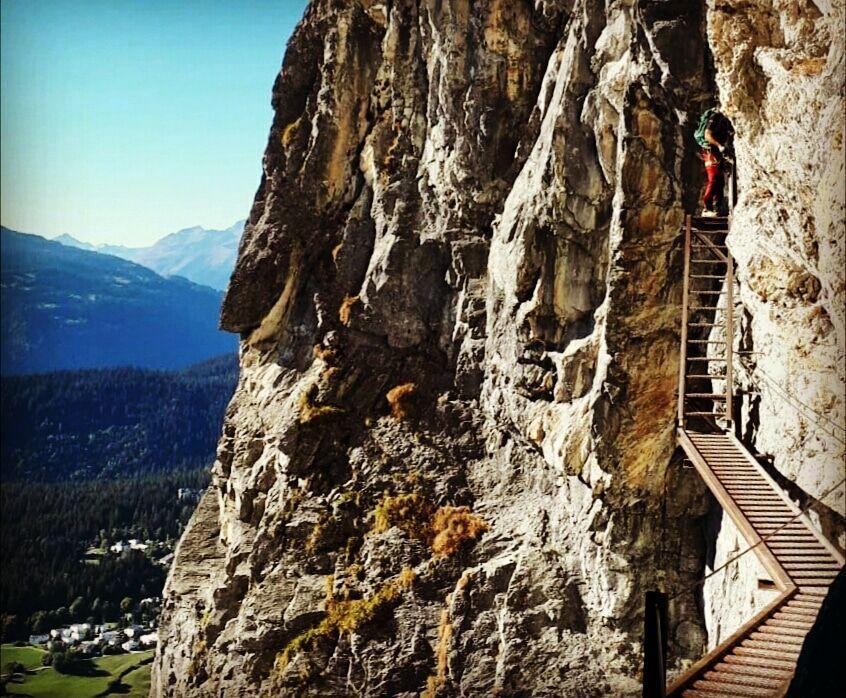 Klettersteig Pinut : Klettersteig pinut flims outdoorhjo